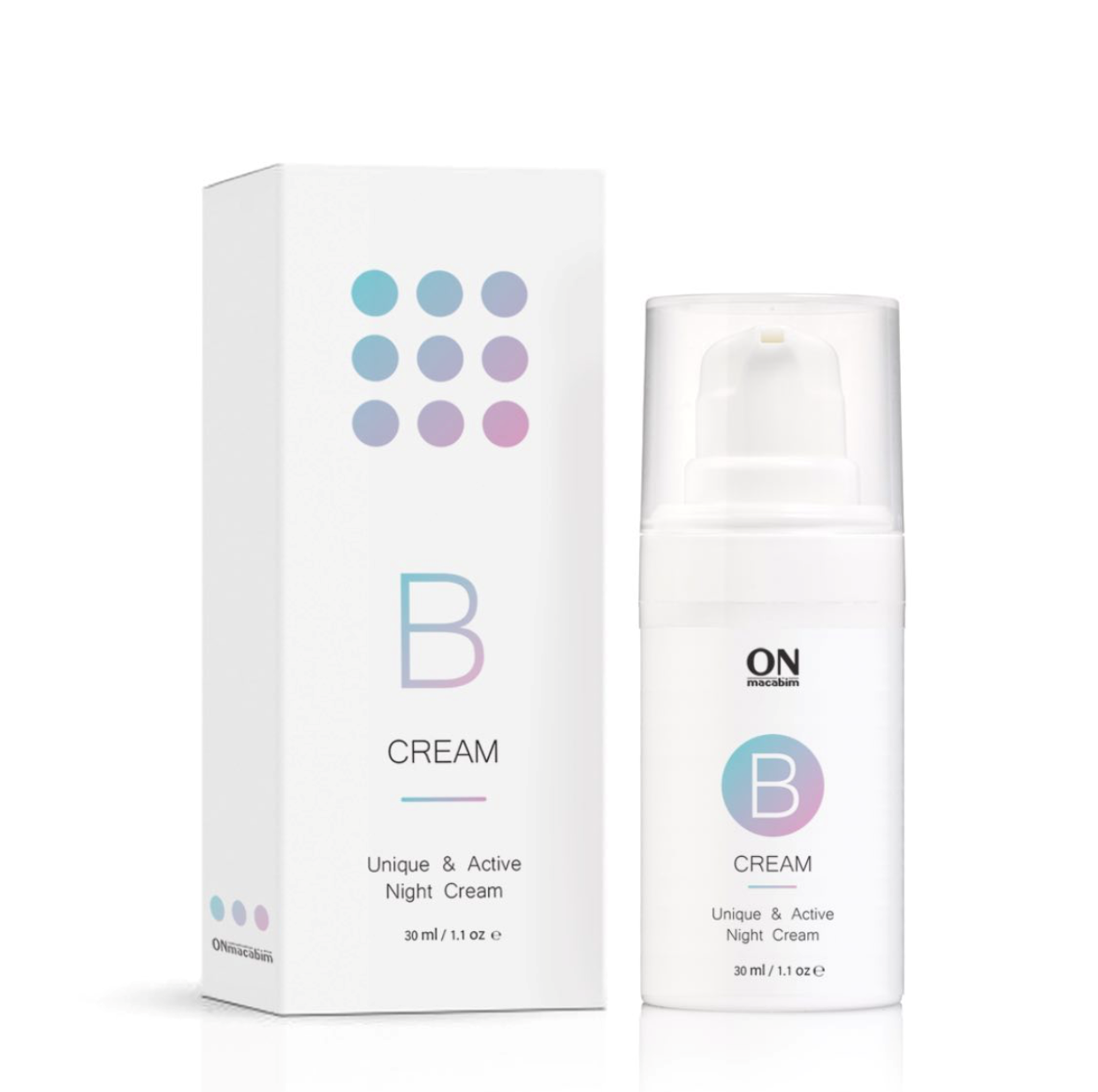 Innovative active night B-cream for oily and problem skin